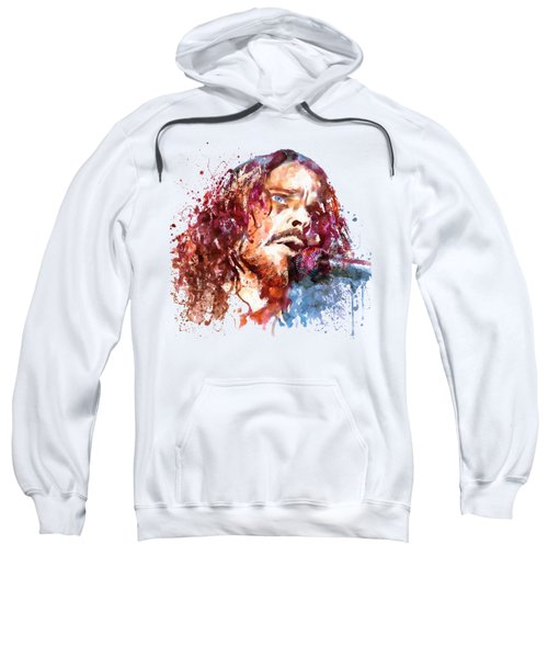 Chris Cornell Sweatshirt by Marian Voicu