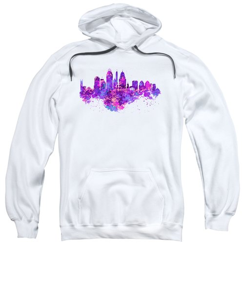 Cincinnati Skyline Sweatshirt by Marian Voicu