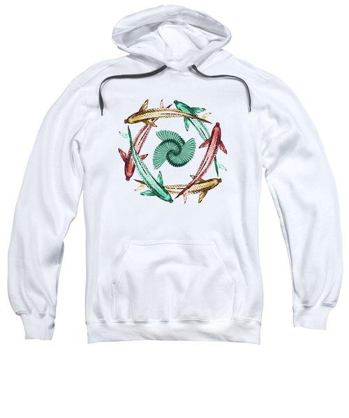 Circle Sweatshirt by Deborah Smith