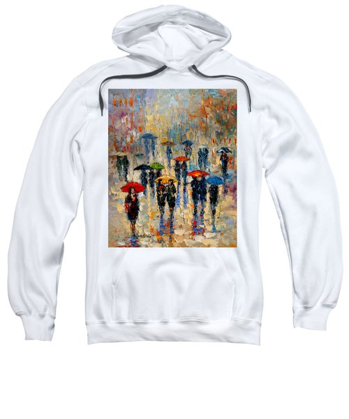 Cloudy Day Sweatshirt by Andre Dluhos