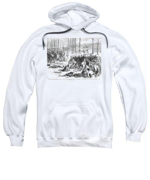 Coal Miner Strike, 1871 Sweatshirt by Granger