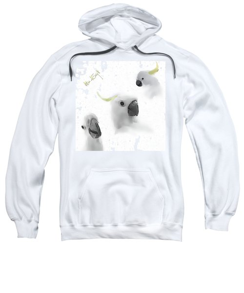 Cockatoos Sweatshirt by iMia dEsigN