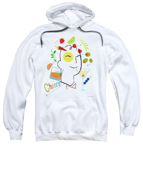 Cocktail Time Sweatshirt by Lisa Henderling