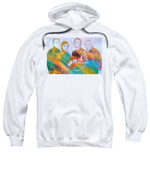Colorful Coldplay Sweatshirt by Dan Sproul