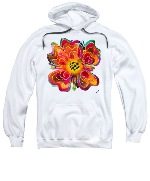 Colorful Flower Art - Summer Love By Sharon Cummings Sweatshirt by Sharon Cummings