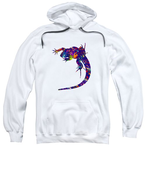 Colourful Lizard -2- Sweatshirt by Bamalam  Photography