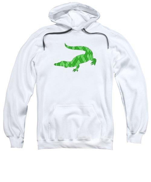 Crocodile Sweatshirt by Mordax Furittus