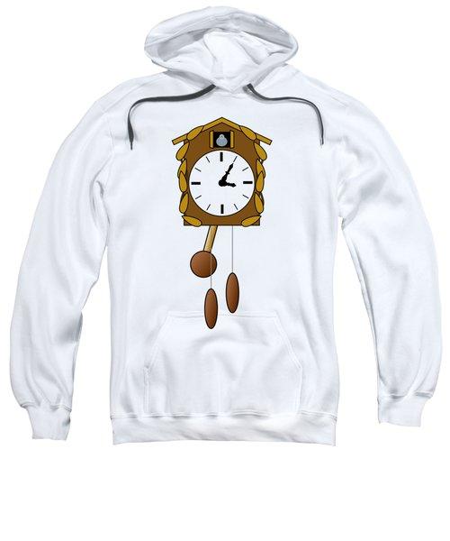 Cuckoo Clock Sweatshirt by Miroslav Nemecek