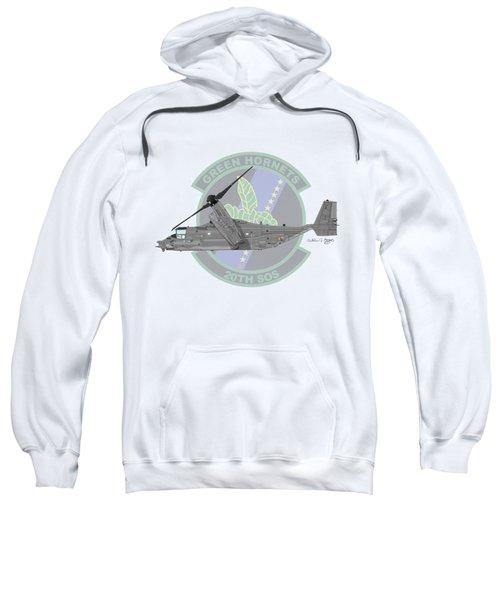 Cv-22b Osprey 20sos Sweatshirt by Arthur Eggers