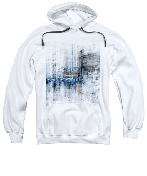 Cyber City Design Sweatshirt by Martin Capek