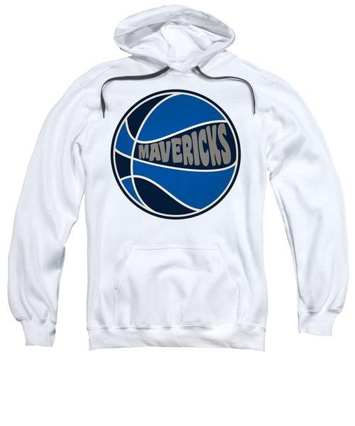 Dallas Mavericks Retro Shirt Sweatshirt by Joe Hamilton