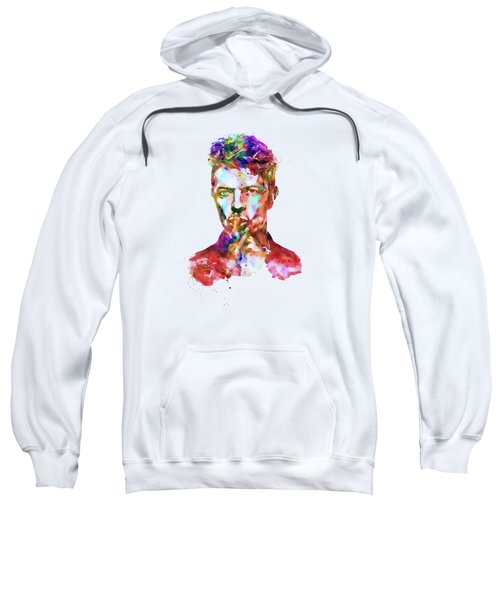 David Bowie  Sweatshirt by Marian Voicu