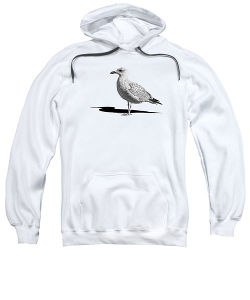 Daydreaming In Black And White Sweatshirt by Gill Billington