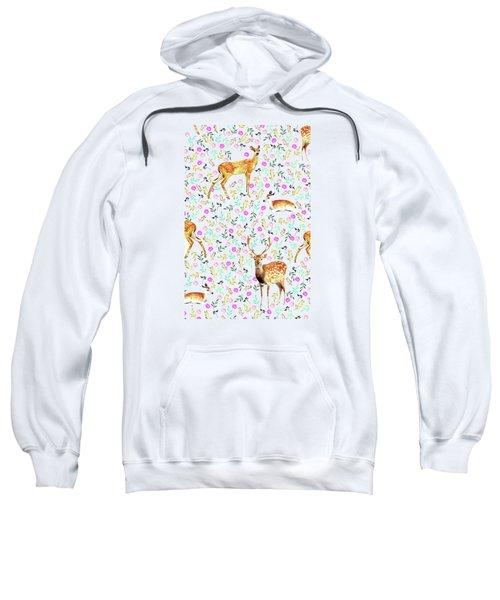 Deers Sweatshirt by Uma Gokhale