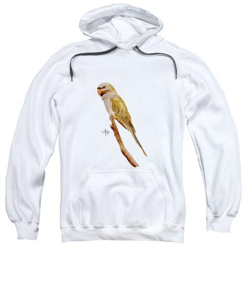 Derbyan Parakeet Sweatshirt by Angeles M Pomata