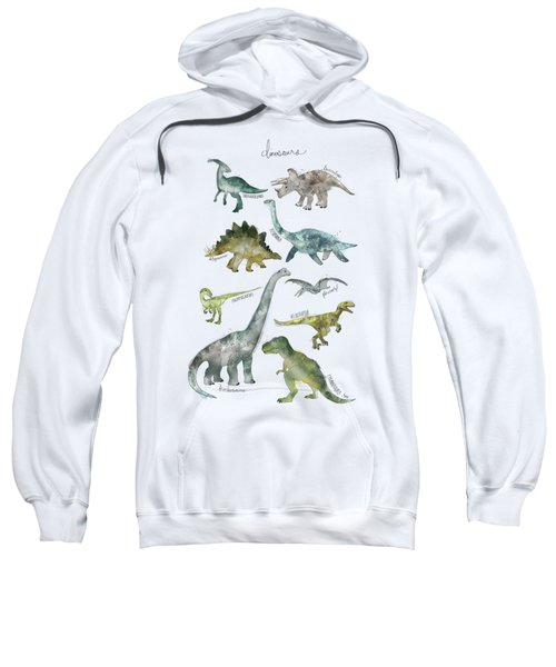 Dinosaurs Sweatshirt by Amy Hamilton