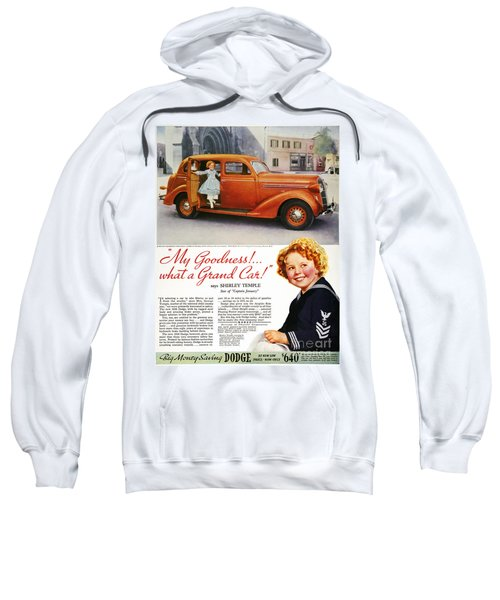 Dodge Automobile Ad, 1936 Sweatshirt by Granger