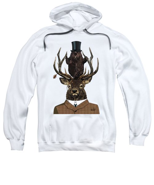 The Earl And Council With Hidden Pictures Sweatshirt by Konni Jensen
