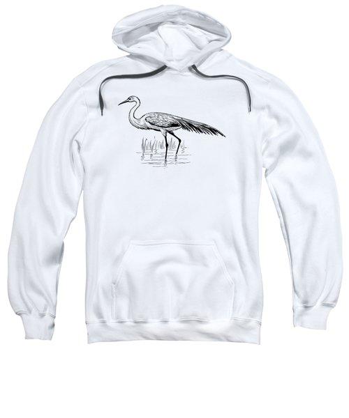Egret Sweatshirt by Mordax Furittus