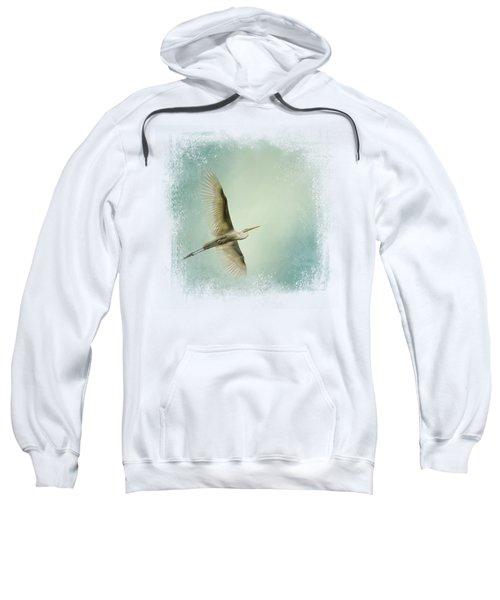 Egret Overhead Sweatshirt by Jai Johnson