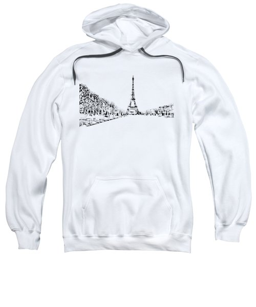 Eiffel Tower Sweatshirt by ISAW Company