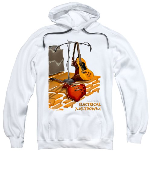 Electrical Meltdown Se Sweatshirt by Mike McGlothlen