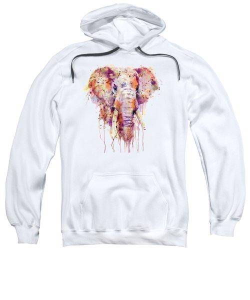 Elephant  Sweatshirt by Marian Voicu