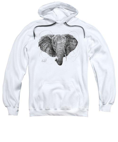 Elephant Sweatshirt by Michael Volpicelli