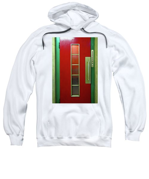 Elevator Door 	 Sweatshirt by Ethna Gillespie