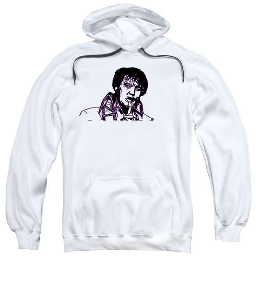 Elvis Presley Sweatshirt by Miroslav Nemecek
