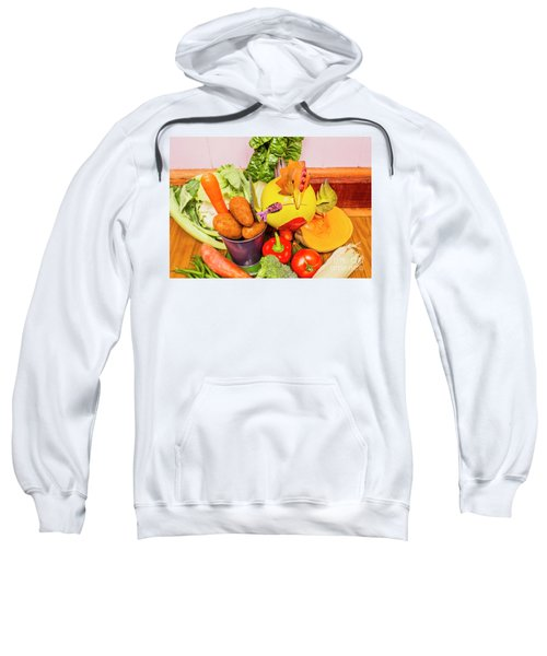 Farm Fresh Produce Sweatshirt by Jorgo Photography - Wall Art Gallery