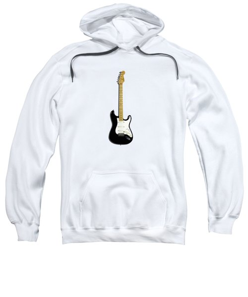 Fender Stratocaster Blackie 77 Sweatshirt by Mark Rogan