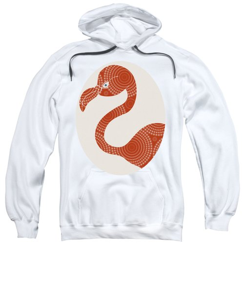 Floral Flamingo Sweatshirt by Frank Tschakert