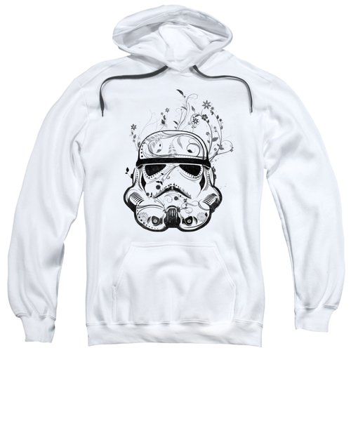 Flower Trooper Sweatshirt by Nicklas Gustafsson