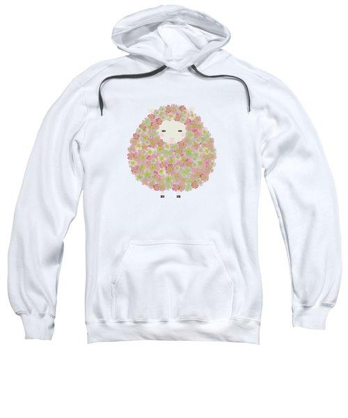 Flowery Sheep Sweatshirt by Brigitte Carre