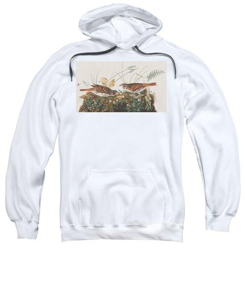 Fox Sparrow Sweatshirt by John James Audubon