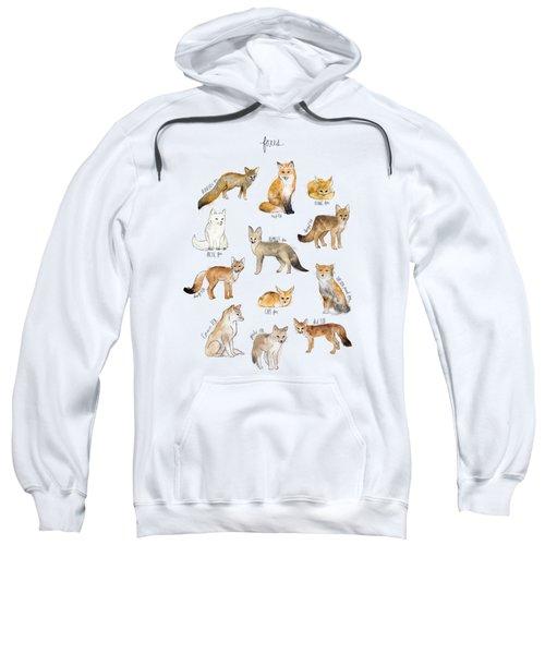 Foxes Sweatshirt by Amy Hamilton