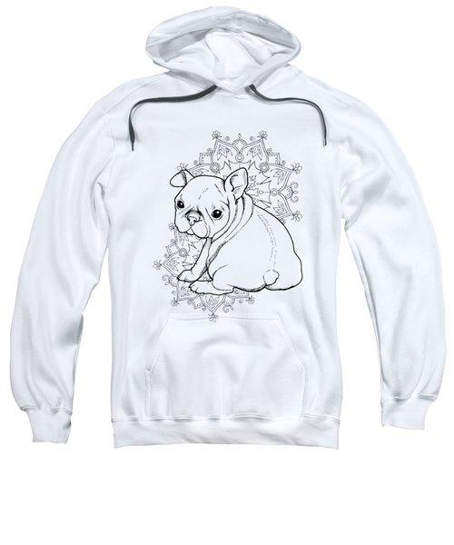 French Bulldog Puppy Sweatshirt by Cindy Elsharouni