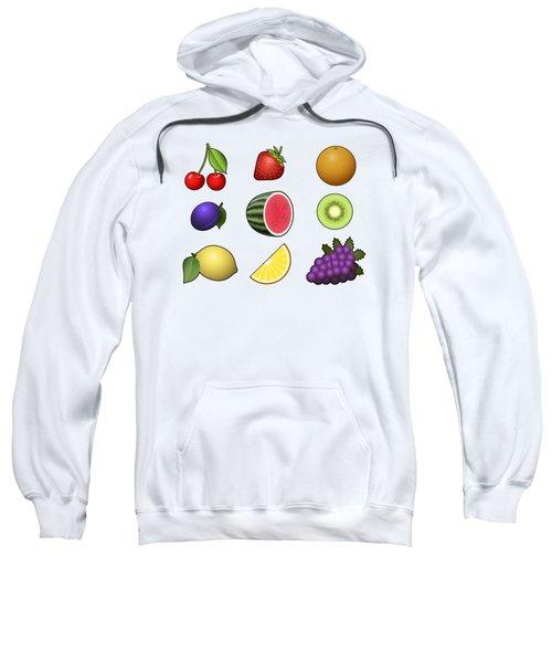 Fruits Collection Sweatshirt by Miroslav Nemecek