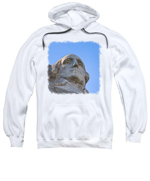George Washington 3 Sweatshirt by John M Bailey