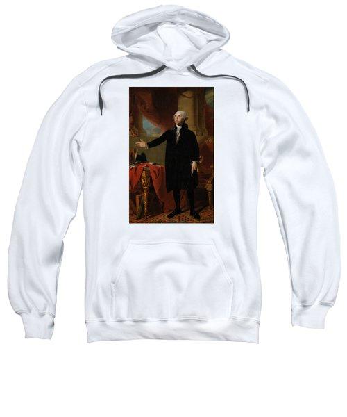 George Washington Lansdowne Portrait Sweatshirt by War Is Hell Store