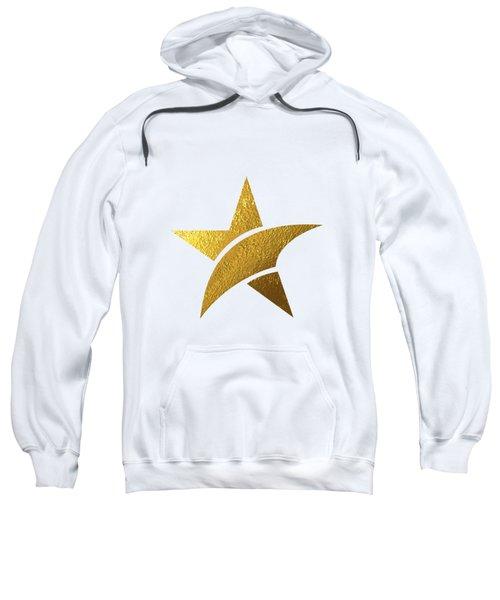 Golden Star Sweatshirt by Bekare Creative
