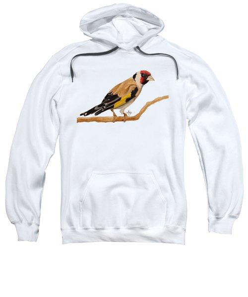 Goldfinch Sweatshirt by Angeles M Pomata