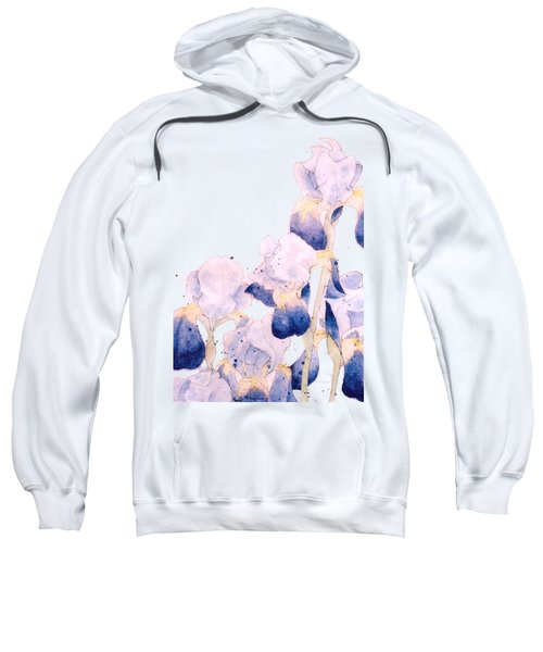 Graceful Iris Sweatshirt by Gail Maguire