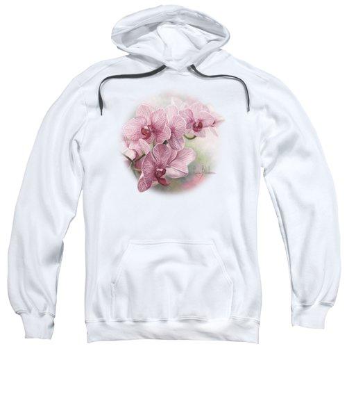 Graceful Orchids Sweatshirt by Lucie Bilodeau