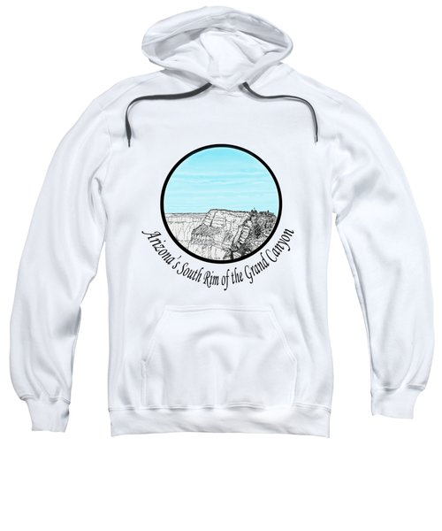 Grand Canyon - South Rim Sweatshirt by James Lewis Hamilton
