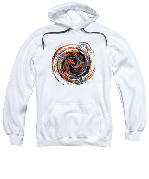 Gravity In Color Sweatshirt by Deborah Smith