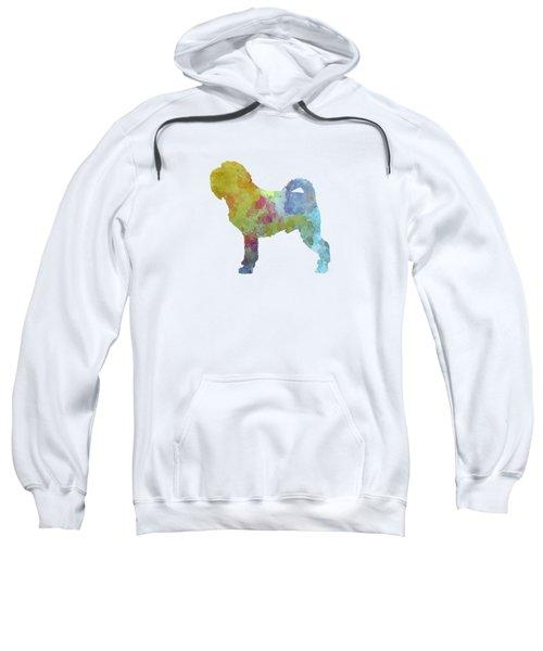 Griffon Belge In Watercolor Sweatshirt by Pablo Romero