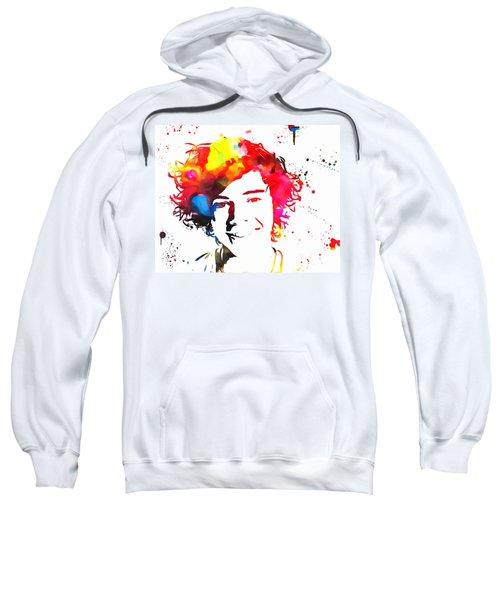 Harry Styles Paint Splatter Sweatshirt by Dan Sproul
