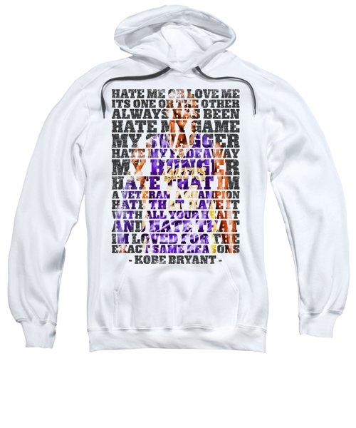 Hate Me Sweatshirt by Iman Cruz